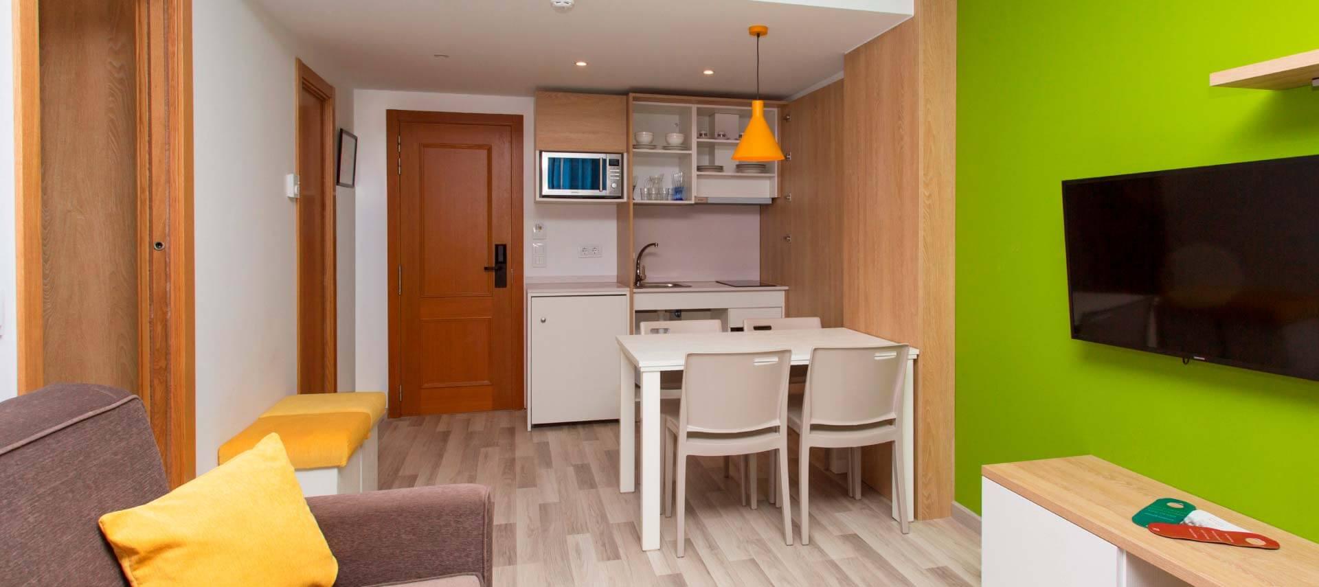 Apartamento turístico del Aparthotel Acuasol